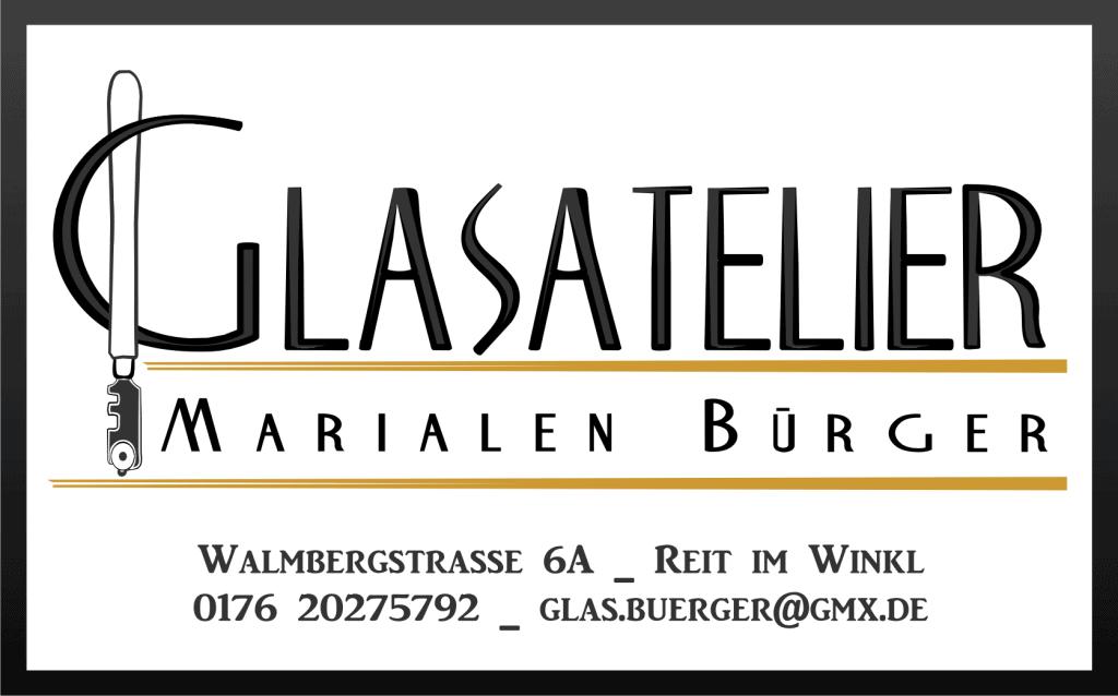Logo Glasatelier Bürger - Ferienwohnungen Wolfenstetter in Reit im Winkl