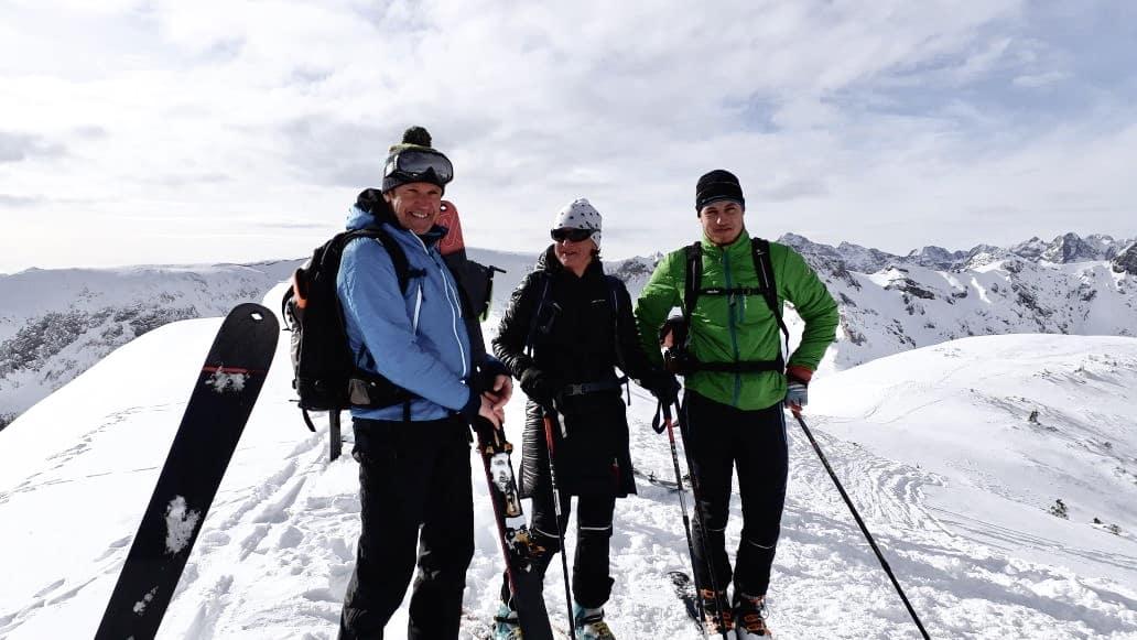 Familie Wolfenstetter auf Skitour - Ferienwohnung Wolfenstetter in Reit im Winkl